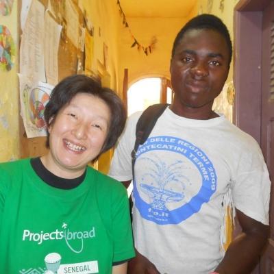 セネガルでチャイルドケア 村上美奈子